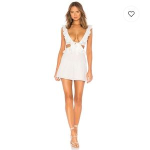 Lang Mini Dress in White